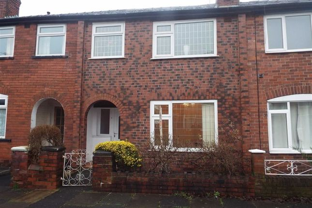 3 bedroom terraced house for sale in Merton Road, Prestwich, Manchester