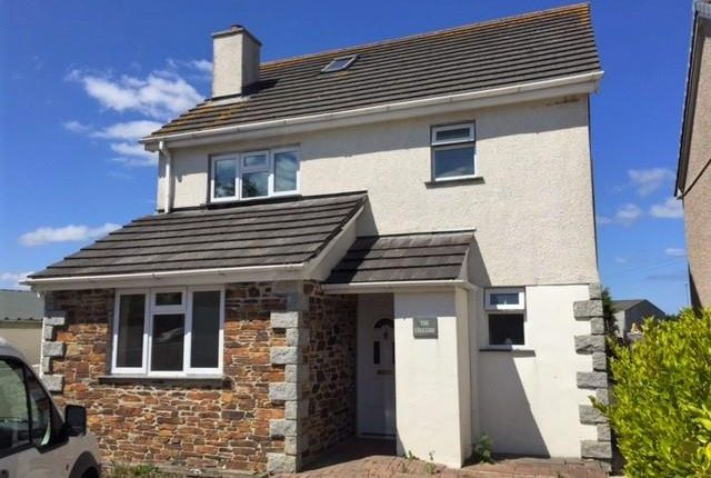 Thumbnail Detached house to rent in Station Approach, St. Columb Road, St. Columb