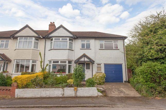 Thumbnail Semi-detached house for sale in Barrow Avenue, Carshalton