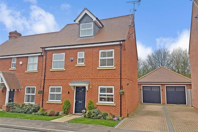 Thumbnail Semi-detached house for sale in Bell Hill Close, Billericay, Essex