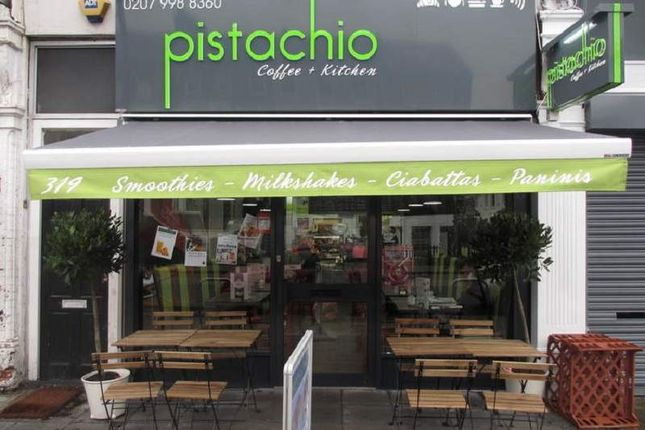 Thumbnail Restaurant/cafe for sale in 319 Brockley Road, London