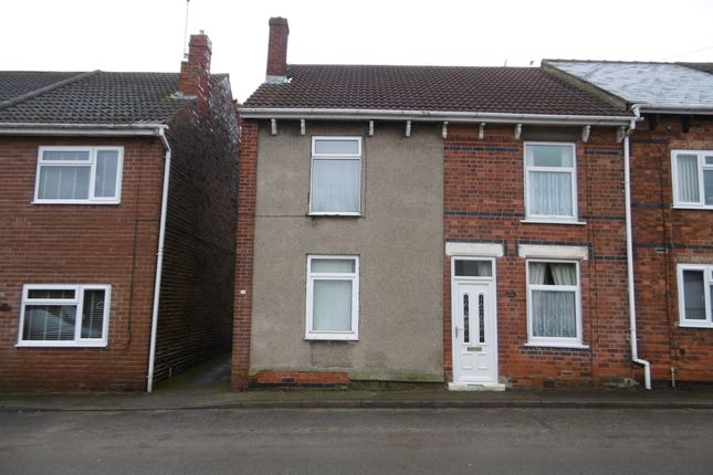 Thumbnail End terrace house to rent in Chesterfield Road, Shuttlewood, Chesterfield