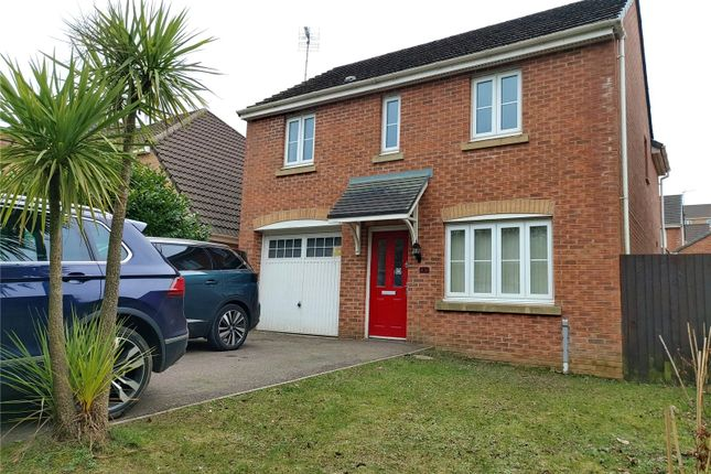 Thumbnail Detached house for sale in Kingfisher Road, North Cornelly, Bridgend
