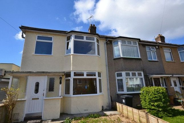 Thumbnail End terrace house to rent in Greenfield Road, Southmead, Bristol