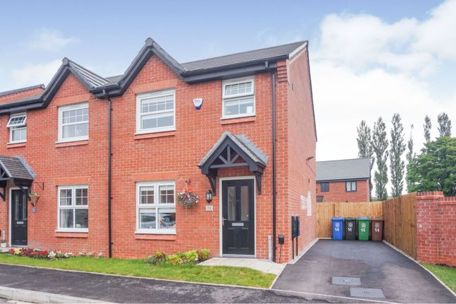 Thumbnail Semi-detached house for sale in Satin Drive, Manchester