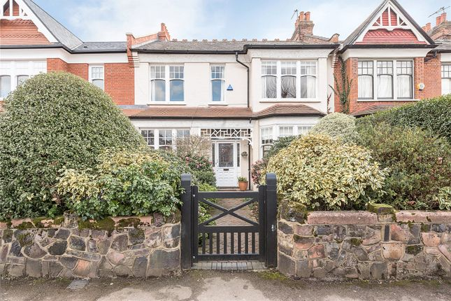 Thumbnail Terraced house for sale in Grand Avenue, London