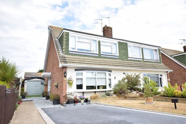 Thumbnail Semi-detached house for sale in Fleetwood Avenue, Holland-On-Sea, Clacton-On-Sea