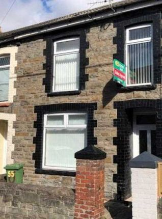 Thumbnail Terraced house to rent in Clarence Street, Mountain Ash