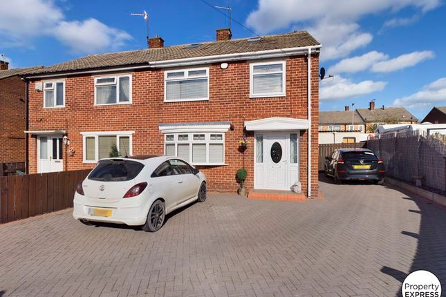 Semi-detached house for sale in Grisedale Crescent, Middlesbrough