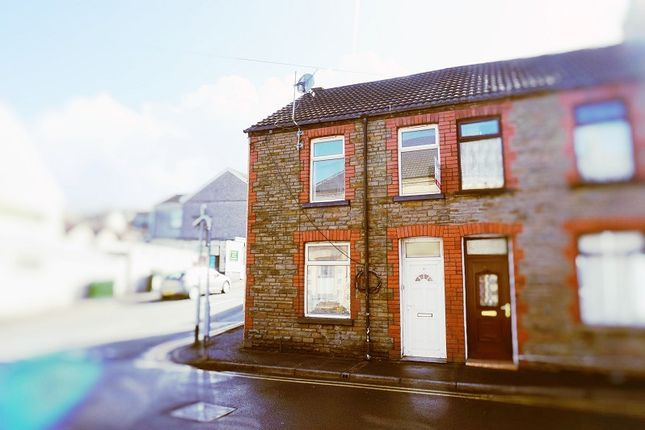 Thumbnail End terrace house to rent in Crythan Road, Neath, West Glamorgan.