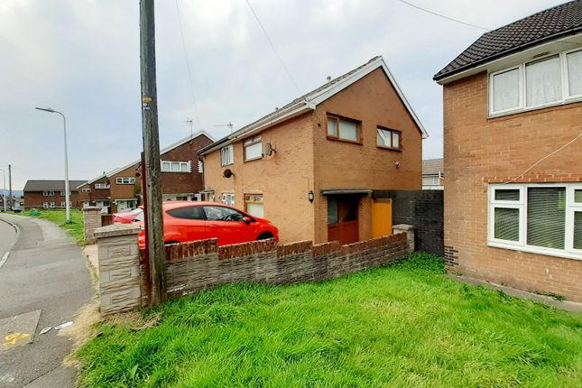 Thumbnail Semi-detached house for sale in Hawthorne Avenue, Merthyr Tydfil