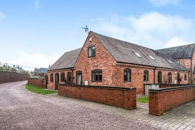 Thumbnail Barn conversion for sale in Coppenhall Mews, Coppenhall, Stafford, Staffordshire