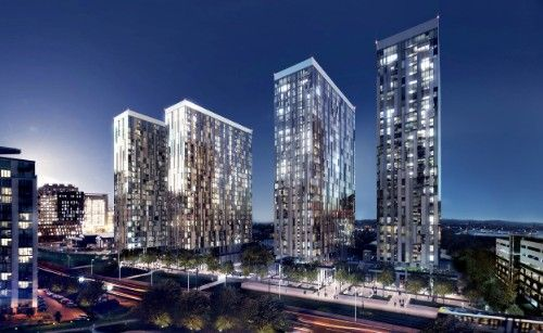 2 Bedrooms Property for sale in X1 Media City Apartments, Salford, M50 2GY