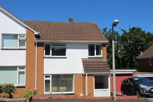 Thumbnail Semi-detached house for sale in Edinburgh Drive, Exeter