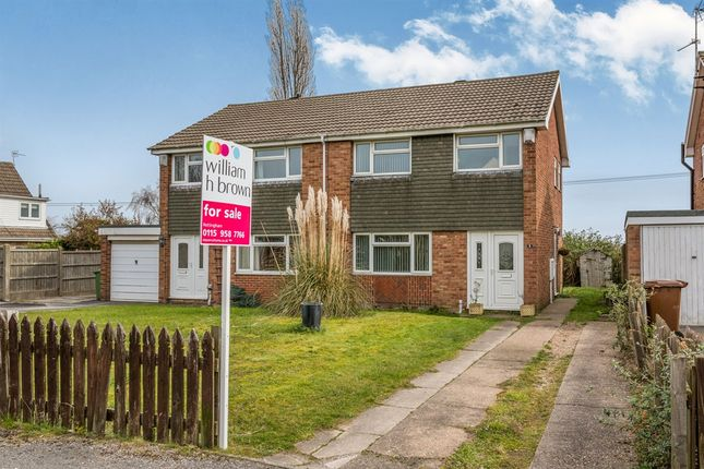 Thumbnail Semi-detached house for sale in Holmwood Road, Rainworth, Mansfield
