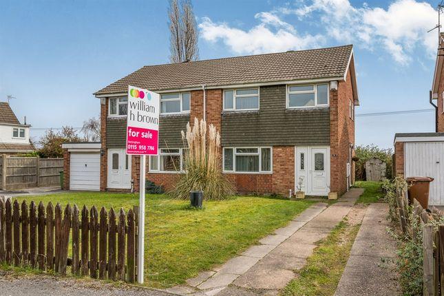Thumbnail Semi-detached house for sale in Holmwood Road, Rainworth, Mansfield