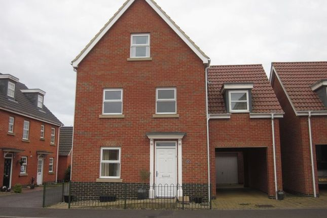 Thumbnail Detached house to rent in Holystone Way, Carlton Colville, Lowestoft
