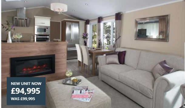 2 bed lodge for sale in Ringwood Road, St. Leonards, Ringwood BH24