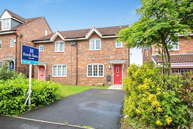 Thumbnail Semi-detached house to rent in Martindale Crescent, Wigan