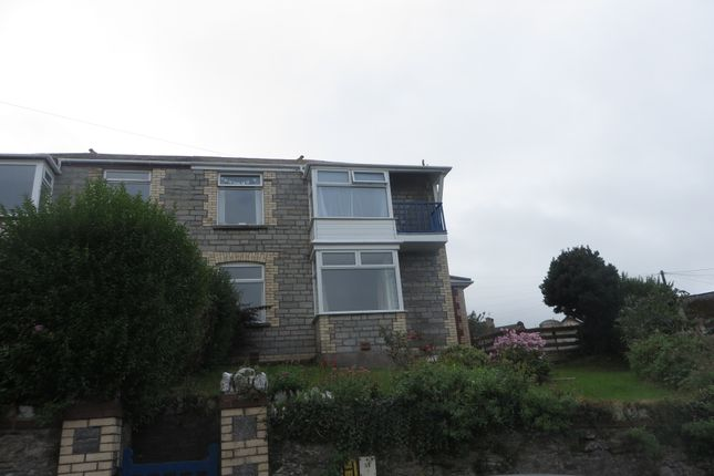 Thumbnail Semi Detached House To Rent In Castle Hill Ilfracombe