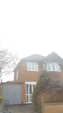 Thumbnail Detached house to rent in Earlswood Road, Leicester