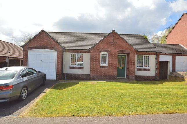 Thumbnail Detached bungalow for sale in The Hollies, Shirebrook, Mansfield