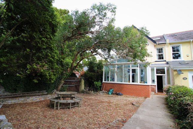 Thumbnail End terrace house for sale in Bronshill Road, Torquay