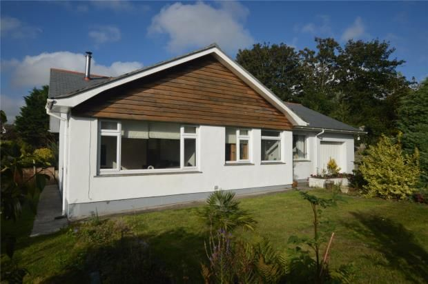 Thumbnail Detached bungalow for sale in Penventon View, Helston, Cornwall
