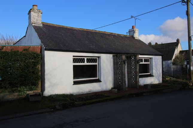 Thumbnail Detached bungalow for sale in High Road, Hightae, Lockerbie