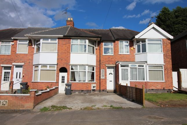 Thumbnail Terraced house for sale in Broad Avenue, Leicester