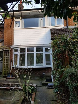 Thumbnail Terraced house to rent in Orchard Close, Wilmslow