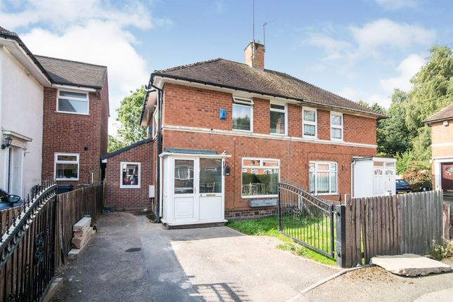 Thumbnail Semi-detached house for sale in Fawley Grove, Kings Norton, Birmingham