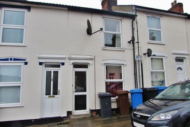 2 bed terraced house to rent in Finchley Road, Ipswich IP4