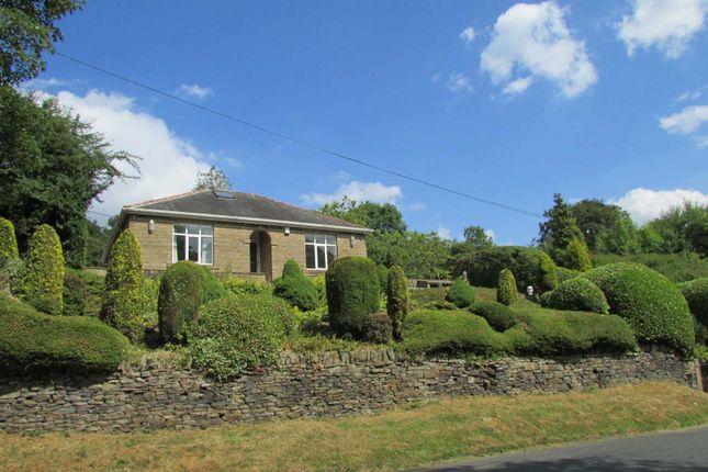 Thumbnail Detached bungalow for sale in Lynton Hepworth Road Jackson Bridge, Holmfirth