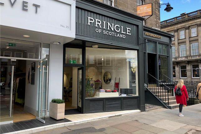 Thumbnail Retail premises to let in 33, George Street, Edinburgh, Scotland