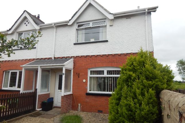Thumbnail End terrace house for sale in Fitzroy Avenue, Ebbw Vale