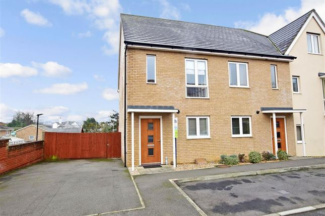 Thumbnail End terrace house for sale in Consort Gardens, East Cowes, Isle Of Wight