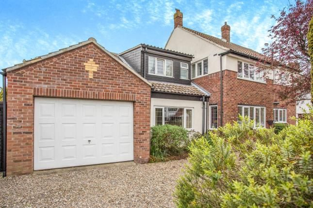 Thumbnail Detached house for sale in Gorleston, Great Yarmouth, Norfolk
