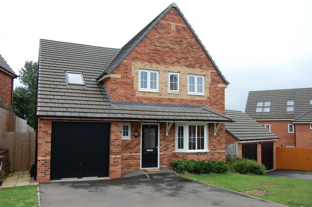 Thumbnail Detached house for sale in Cowley Meadow Way, Crick, Northampton