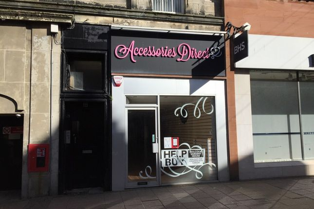 Retail premises to let in High Street, Ayr