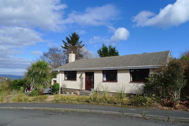 Thumbnail Bungalow for sale in Fraon, 21 Alma Park, Brodick