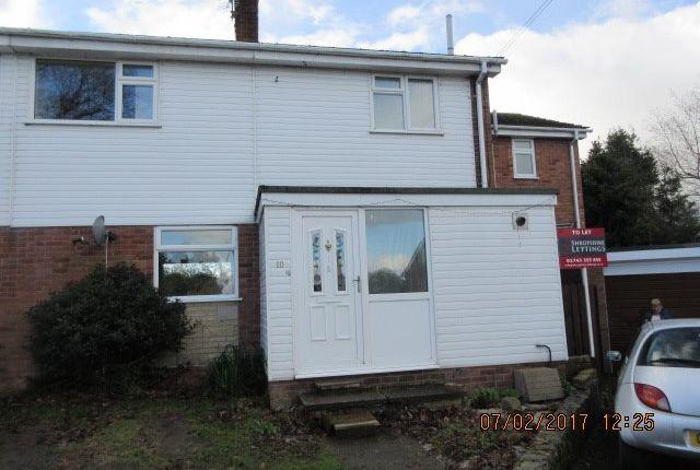Thumbnail Semi-detached house to rent in Brook Rise, Pontesbury, Shrewsbury