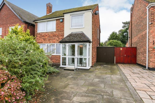 Thumbnail Detached house for sale in Fox Hollies Road, Hall Green, Birmingham
