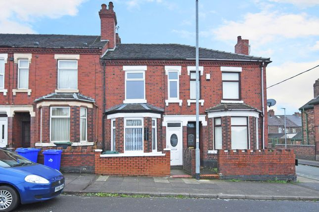 Thumbnail Terraced house to rent in Goms Mil Road, Longton, Stoke On Trent