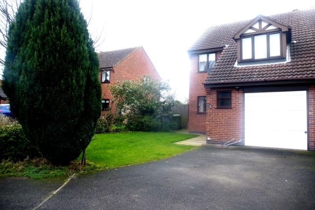 Thumbnail Semi-detached house to rent in Lamb Close, Newark