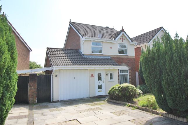 Thumbnail Detached house to rent in Skyes Crescent, Winstanley, Wigan