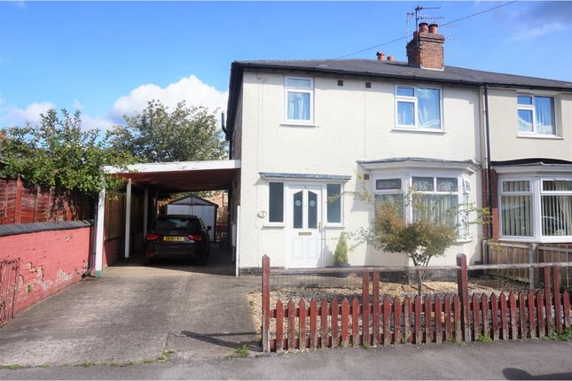 Thumbnail Semi-detached house for sale in Clumber Avenue, Nottingham