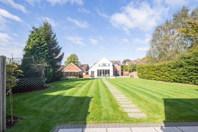 Thumbnail Detached house for sale in Greenmoor Road, Burbage, Hinckley, Leicestershire