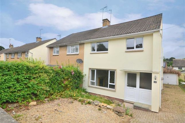 Thumbnail Semi-detached house to rent in Castlefields Road, Charlton Kings, Cheltenham
