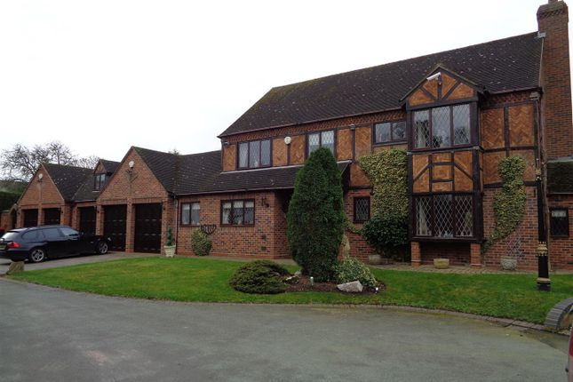 Thumbnail Detached house for sale in Stonecross, Water Orton, Birmingham